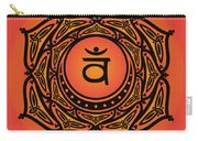 Celtic Tribal Sacral Chakra Carry-all Pouch