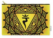 Celtic Tribal Solar Plexus Chakra Carry-all Pouch