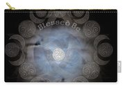 Celtic Triple Moon Goddess Mandala Carry-all Pouch