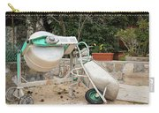 Cement Mixer And A Wheelbarrow In Croatia Carry-all Pouch