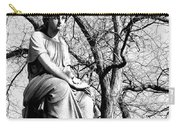 Cemetary Statue B-w Carry-all Pouch
