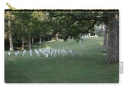 Cemetery At Shiloh National Military Park In Tennessee Carry-all Pouch