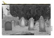 Cemetery Church Of St. Mary Wedmore Carry-all Pouch