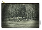 Cemetery In The Woods Carry-all Pouch