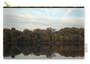 Centennial Lake Autumn - Thanksgiving Reflection Carry-all Pouch