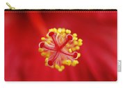 Center Of The Hibiscus Universe Carry-all Pouch