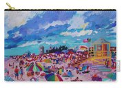 Center Panel Of Triptych Busy Relaxing Carry-all Pouch