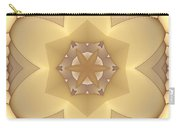 Center Star-flower Carry-all Pouch