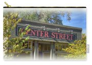 Center Street Cafe Sign Carry-all Pouch