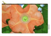Centerpiece - Angel Trumpet 005 Carry-all Pouch