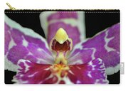 Centerpiece - Purple Orchid Macro Carry-all Pouch