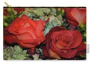 Centerpiece Roses Carry-all Pouch