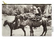 Central Asian Travelers Carry-all Pouch