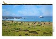 Central Coast Panorama - Hwy 1 Carry-all Pouch by Lynn Bauer