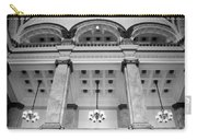 Central Library Milwaukee Interior Bw Carry-all Pouch