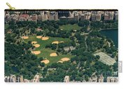 Central Park North Meadow In New York City Aerial View Carry-all Pouch