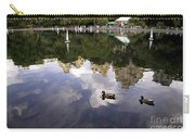 Central Park Pond With Two Ducks Carry-all Pouch by Madeline Ellis