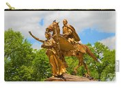 Central Park Sculpture-general Sherman Carry-all Pouch
