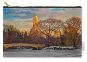 Central Parks Famous Bow Bridge Carry-all Pouch