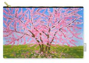 Cercis Tree, Oil Painting Carry-all Pouch