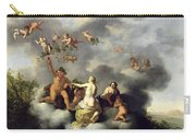 Ceres Bacchus Venus And Cupid  Carry-all Pouch
