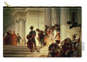 Cesare Borgia Leaving The Vatican Carry-all Pouch