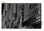 Cesena In Black And White Carry-all Pouch