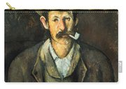 Cezanne: Pipe Smoker, C1892 Carry-all Pouch