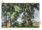 Cezanne: Trees, C1885-87 Carry-all Pouch