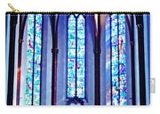 Chagall Windows In St Stephen's Church 1   Carry-all Pouch