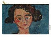 Chaim Soutine 1893 - 1943 Portrait De Jeune Fille Paulette Jourdain Carry-all Pouch