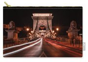 Chain Bridge At Midnight Carry-all Pouch