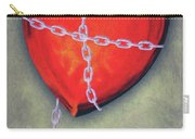 Chained Heart Carry-all Pouch by Jeff Kolker