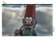 Chainsaw Art Gnome Carry-all Pouch