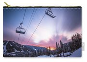 Chairlift Sunset Carry-all Pouch