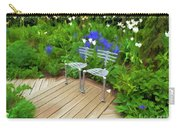 Chairs In The Garden Carry-all Pouch