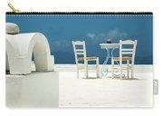 Chairs Of Santorini Carry-all Pouch