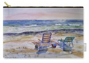 Chairs On The Beach Carry-all Pouch
