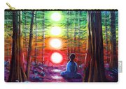 Chakra Meditation In The Redwoods Carry-all Pouch