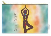 Chakra Yoga Art By Valentina Miletic Carry-all Pouch