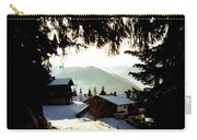 Chalet Through The Trees Carry-all Pouch