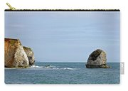 Chalk Cliffs At Freshwater Bay Carry-all Pouch
