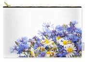 Chamomile And Cornflower Mix Carry-all Pouch