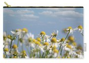 Chamomile Nature Spring Scene Carry-all Pouch