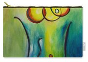 Champagne Carry-all Pouch by Donna Blackhall