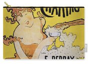 Champagne Poster, 1891 Carry-all Pouch