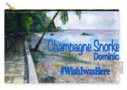 Champagne Snorkel Dominica Shirt Carry-all Pouch