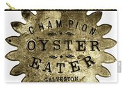 Champion Oyster Eater - To License For Professional Use Visit Granger.com Carry-all Pouch