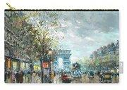 Champs Elysees Avenue, Paris Carry-all Pouch