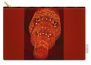 Chandelier In Red  Carry-all Pouch